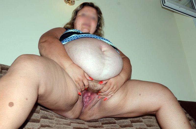 Пися жирной бабы