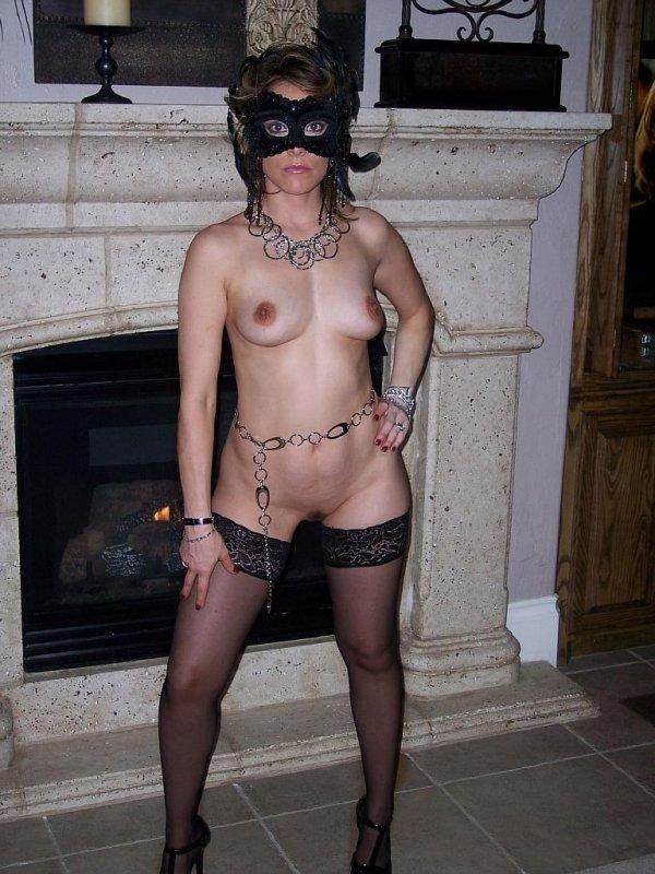 обыденный зрелые жены в маске порно девчонка